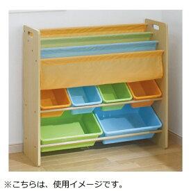 日本育児 nihon ikuji おかたづけ大すき BOOK&TOY カラフル