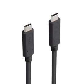 エレコム ELECOM 1.0m[USB-C ⇔ USB-C]3.1 Gen1ケーブル 充電・転送 USB PD対応 60W ブラック MPA-CC13A10NBK
