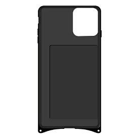 藤家 Fujiya iPhone11Pro 幻想デザイン ガラスハイブリッド B. ステンドグラスローズ ghp7053-bk-b-ip11pro