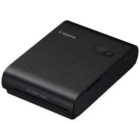 キヤノン CANON コンパクトフォトプリンター SELPHY SQUARE(セルフィー スクエア) ブラック QX10BK [スマートフォン専用 /スクエア]
