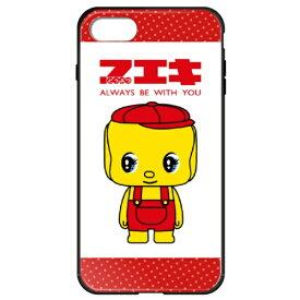 藤家 Fujiya iPhone8P/7P (5.5) フエキ ガラスハイブリッドケース ghp7169-bk-a-ip8p