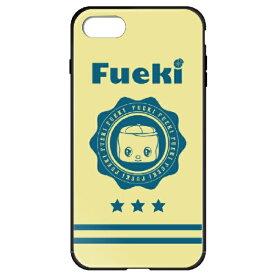 藤家 Fujiya iPhone8P/7P (5.5) フエキ ガラスハイブリッドケース ghp7169-bk-b-ip8p