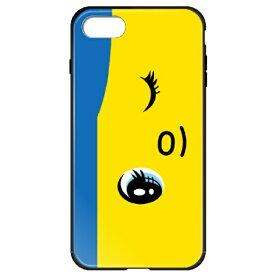 藤家 Fujiya iPhone8P/7P (5.5) フエキ ガラスハイブリッドケース ghp7169-bk-d-ip8p