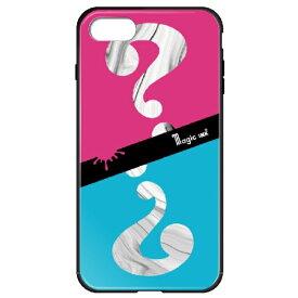 藤家 Fujiya iPhone8P/7P (5.5) マジックインキ ガラスハイブリッドケース ghp7170-bk-e-ip8p