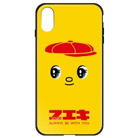 藤家 Fujiya iPhoneXR フエキ ガラスハイブリッドケース ghp7169-bk-c-ipxr