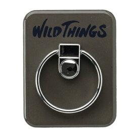 HAMEE ハミィ [各種スマートフォン対応]WILD THINGS(ワイルドシングス) バンカーリング WILD THINGS リーフ 661-912614