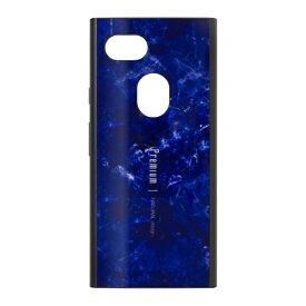 ナチュラルデザイン NATURAL design Google Pixel 3a専用背面ケース Premium Marble Navy GP3a-PREIS03