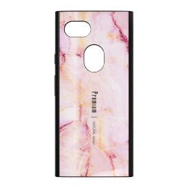 ナチュラルデザイン NATURAL design Google Pixel 3a専用背面ケース Premium Marble Pink GP3a-PREIS04