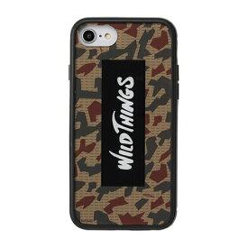 HAMEE ハミィ iPhone SE(第2世代)4.7インチ/ iPhone 8/7/6s/6専用 WILD THINGS(ワイルドシングス) Hybrid Case WILD THINGS ロゴ/カモ 360-912515