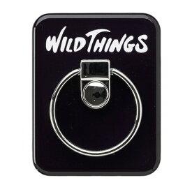 HAMEE ハミィ [各種スマートフォン対応]WILD THINGS(ワイルドシングス) バンカーリング WILD THINGS ブラック 661-912607