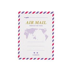 マルアイ MARUAI エアメール便箋ミニ 横罫 FM-H226