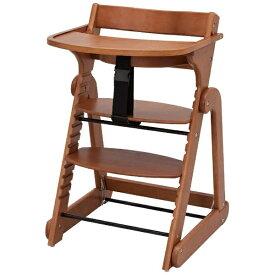 日本育児 nihon ikuji たためる木製スマートハイチェア III ブラウン