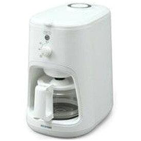 アイリスオーヤマ IRIS OHYAMA 全自動コーヒーメーカー ホワイト WLIAC-A600-W [全自動 /ミル付き]