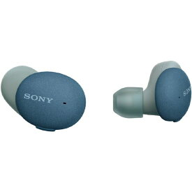 ソニー SONY フルワイヤレスイヤホン ブルー WF-H800 LM [リモコン・マイク対応 /ワイヤレス(左右分離) /Bluetooth]【rb_cpn】