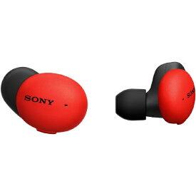 ソニー SONY フルワイヤレスイヤホン レッド WF-H800 RM [リモコン・マイク対応 /ワイヤレス(左右分離) /Bluetooth]【rb_cpn】
