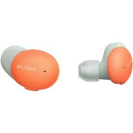 ソニー SONY フルワイヤレスイヤホン オレンジ WF-H800 DM [リモコン・マイク対応 /ワイヤレス(左右分離) /Bluetooth]