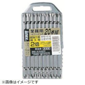 兼古製作所 アネックス パワービット20本組 両頭 +2×110 AP20-2110