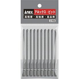 兼古製作所 アネックス パワービット10本組 段付+2×100 (マグネットなし) AP-16-2-100