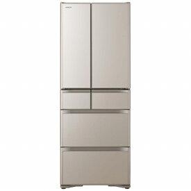 日立 HITACHI R-X51N-XN 冷蔵庫 クリスタルシャンパン [6ドア /観音開きタイプ /505L][冷蔵庫 大型]《基本設置料金セット》
