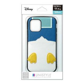 PGA iPhone 11 Pro用 タフポケットケース ドナルドダック UNISTYLE ドナルドダック PG-DPT19A22DND
