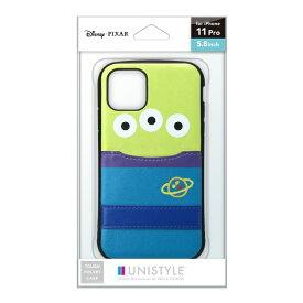 PGA iPhone 11 Pro用 タフポケットケース エイリアン UNISTYLE エイリアン PG-DPT19A23LGM
