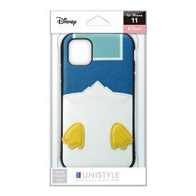 PGA iPhone 11用 タフポケットケース ドナルドダック UNISTYLE ドナルドダック PG-DPT19B22DND