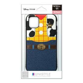PGA iPhone 11用 タフポケットケース ウッディ UNISTYLE ウッディ PG-DPT19B24WDY