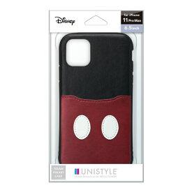PGA iPhone 11 Pro Max用 タフポケットケース ミッキーマウス UNISTYLE ミッキーマウス PG-DPT19C20MKY