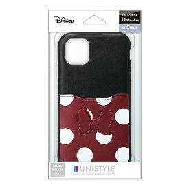 PGA iPhone 11 Pro Max用 タフポケットケース ミニーマウス UNISTYLE ミニーマウス PG-DPT19C21MNE
