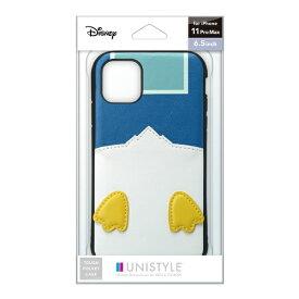PGA iPhone 11 Pro Max用 タフポケットケース ドナルドダック UNISTYLE ドナルドダック PG-DPT19C22DND