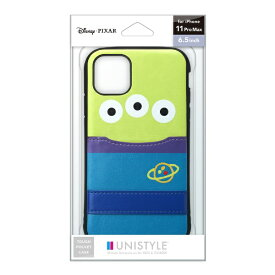 PGA iPhone 11 Pro Max用 タフポケットケース エイリアン UNISTYLE エイリアン PG-DPT19C23LGM