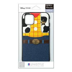 PGA iPhone 11 Pro Max用 タフポケットケース ウッディ UNISTYLE ウッディ PG-DPT19C24WDY
