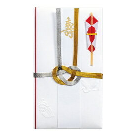 マルアイ MARUAI 祝中柾金銀7本結切赤のし短冊4枚入 キ-18