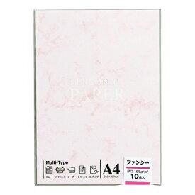 マルアイ MARUAI OA-101 〔各種プリンタ〕 OA用紙 ファンシー 厚口 101 0.29mm [A4 /10枚] ピンク