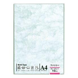 マルアイ MARUAI OA-103 〔各種プリンタ〕 OA用紙 ファンシー 厚口 103 0.29mm [A4 /10枚] ブルー