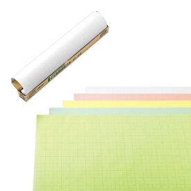 マルアイ MARUAI マス目模造紙プル ホワイト 20枚 マ-21