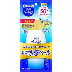 ロート製薬 ROHTO SKIN AQUA(スキンアクア) スーパーモイスチャージェル 110g 〔日焼け止め〕【rb_pcp】