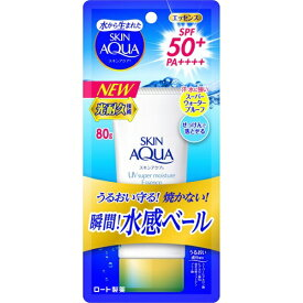 ロート製薬 ROHTO SKIN AQUA(スキンアクア) スーパーモイスチャーエッセンス 80g 〔日焼け対策商品〕