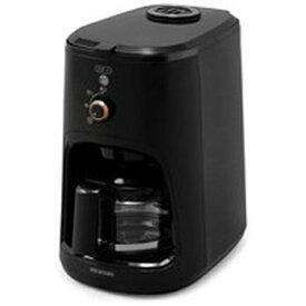 アイリスオーヤマ IRIS OHYAMA BLIAC-A600-B 全自動コーヒーメーカー ブラック [全自動 /ミル付き]