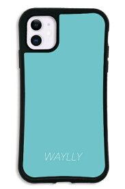 ケースオクロック iPhone11 WAYLLY-MK セット ドレッサー スモールロゴ ミントブルー mksl-set-11-mbl