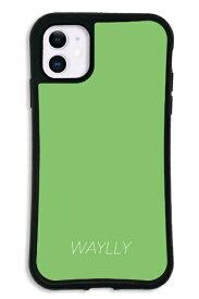 ケースオクロック caseoclock iPhone11 WAYLLY-MK セット ドレッサー スモールロゴ グリーン mksl-set-11-gre