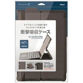 ナカバヤシ Nakabayashi Surface Pro 7 / Pro 6 / Pro 2017 / Pro 4用 衝撃吸収ケース ブラック TBC-SFP1904BK