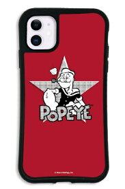 ケースオクロック iPhone11 WAYLLY-MK × ポパイ 【セット】 ドレッサー レッド mkppy-set-11-red