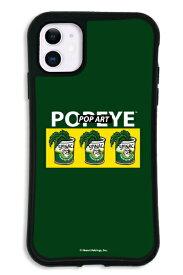 ケースオクロック iPhone11 WAYLLY-MK × ポパイ 【セット】 ドレッサー グリーン mkppy-set-11-gre