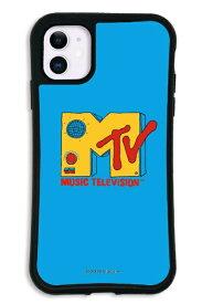 ケースオクロック iPhone11 WAYLLY-MK × MTVオリジナル セット ドレッサー MTV ロゴ ブルー mkmtvo-set-11-bl