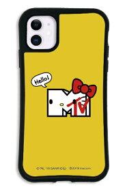 ケースオクロック caseoclock iPhone11 WAYLLY-MK × MTV × ハローキティ セット ドレッサー パンカデリック イエロー mkmtvk-set-11-pye