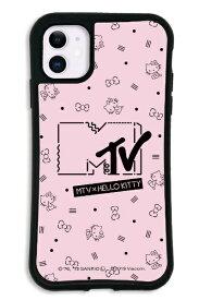 ケースオクロック caseoclock iPhone11 WAYLLY-MK × MTV × ハローキティ セット ドレッサー カワイイポップ ロゴピンク mkmtvk-set-11-kpk