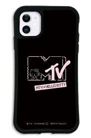 ケースオクロック caseoclock iPhone11 WAYLLY-MK × MTV × ハローキティ セット ドレッサー カワイイポップ ロゴブラック mkmtvk-set-11-kbl