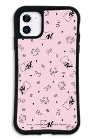 ケースオクロック caseoclock iPhone11 WAYLLY-MK × MTV × ハローキティ セット ドレッサー カワイイポップ パターン mkmtvk-set-11-kpt