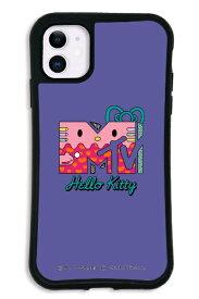 ケースオクロック caseoclock iPhone11 WAYLLY-MK × MTV × ハローキティ セット ドレッサー 80s パープル mkmtvk-set-11-80pp